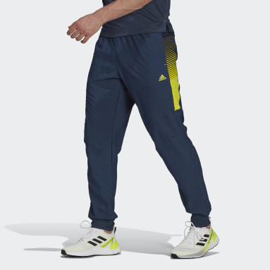 Calça Designed 2 Move Activated Tech AEROREADY Azul Homem Training