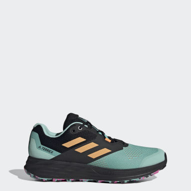 Sapatos de Trail Running Two Flow TERREX Verde TERREX