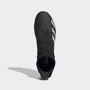 Men Soccer Black Predator Freak.3 Firm Ground Cleats