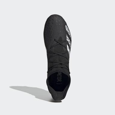 Men Soccer Black Predator Freak.3 Firm Ground Cleats
