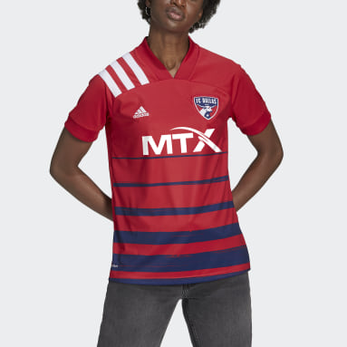 Women's Soccer White FC Dallas 20/21 Home Jersey