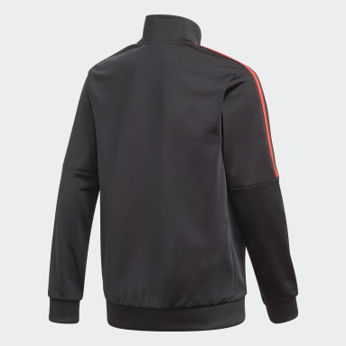Track jacket adicolor Nero Bambini Originals