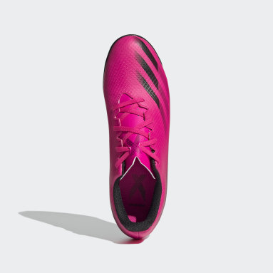 Calzado de Fútbol X Ghosted.4 Cancha Cubierta Rosa Hombre Fútbol
