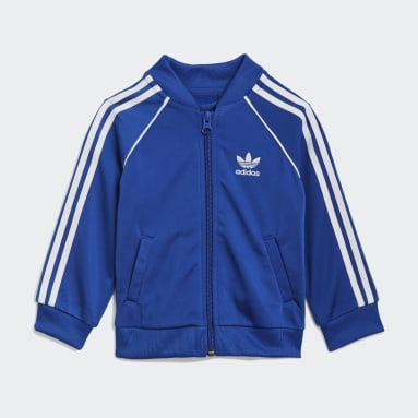 Kinderen Originals blauw Adicolor SST Trainingspak