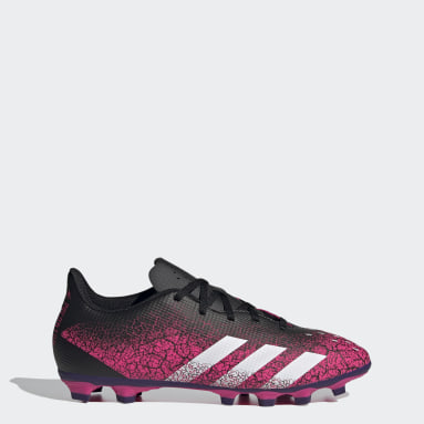 Men Football Pink Predator Freak.4 Flexible Ground Boots
