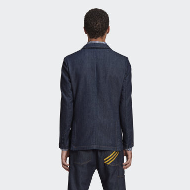Men Originals Blue HM Denim Blazer