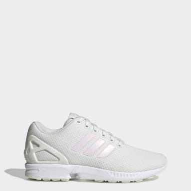 Women Originals White ZX Flux Shoes