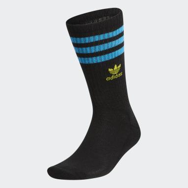Men's Originals Black Roller Crew Socks