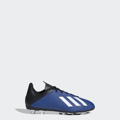Zapatos de Fútbol X 19.4 Multiterreno Azul Niño Fútbol