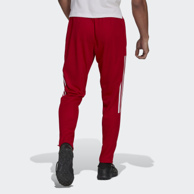 Men Football Red Tiro Tracksuit Bottoms
