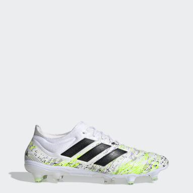Botas de Futebol Copa 20.1 – Piso firme Branco Futebol