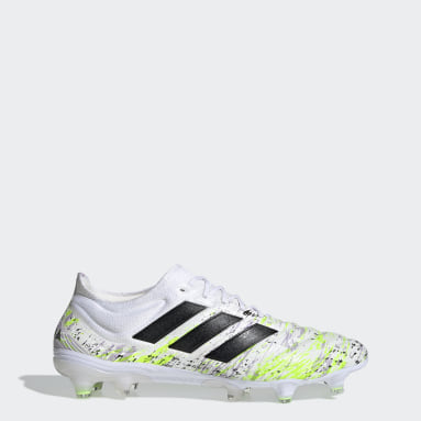 Football White Copa 20.1 Firm Ground Boots