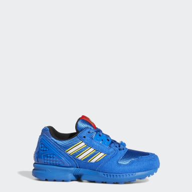 Youth Originals Blue adidas ZX 8000 x LEGO® Shoes
