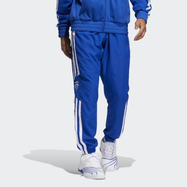 Men Basketball Blue T-Mac Winter Pants