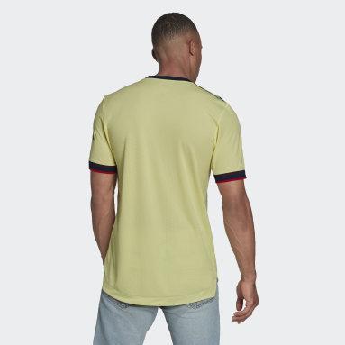 Camiseta segunda equipación Arsenal 21/22 Authentic Amarillo Hombre Fútbol