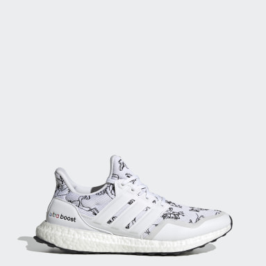 Running White Ultraboost DNA x Disney Shoes