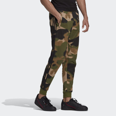 Heren Originals Groen Camo Joggingbroek