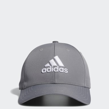 Men Golf Grey Performance Cap
