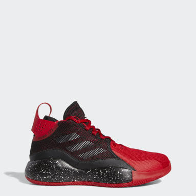 Chaussure D Rose 773 2020 Rouge Hommes Basketball