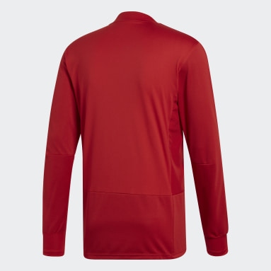 Haut d'entraînement Condivo 18 Player Focus Rouge Hommes Fitness Et Training