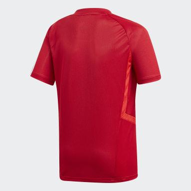 Kinderen Fitness En Training rood Tiro 19 Training Voetbalshirt