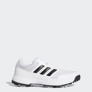 Men Golf White Tech Response 2.0 Golf Shoes