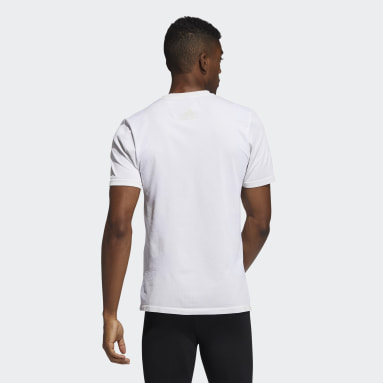 Heren Studio Beige Studio Tech Techfit Naadloos T-shirt