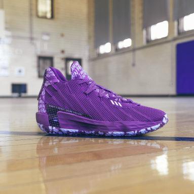Basketball Purple Dame 7 I Am My Own Fan Shoes