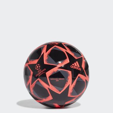 Pallone Mini UCL Finale 20 Real Madrid Nero Calcio