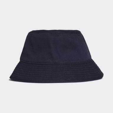 Training Blue Cotton Bucket Hat