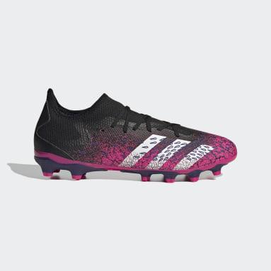 Voetbal Zwart Predator Freak.3 Low Multi Ground Voetbalschoenen