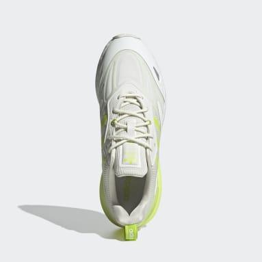 Men's Originals White ZX 2K Boost 2.0 Shoes