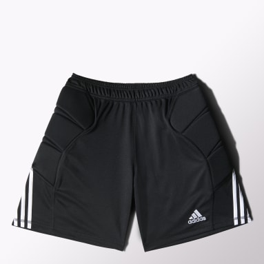 Men Soccer Black Tierro 13 Goalkeeper Shorts