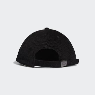 Originals Svart Corduroy Cap