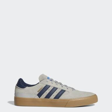 Men Originals Grey Busentiz Vulc II Shoes