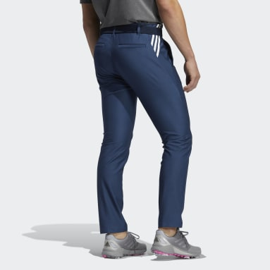 Heren Golf blauw Ultimate365 3-Stripes Tapered Broek