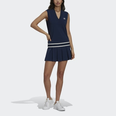 Women Originals Blue Tennis Luxe Tennis Dress