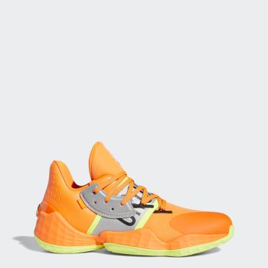 Men Basketball Orange Harden Vol. 4 Playoffs Shoes