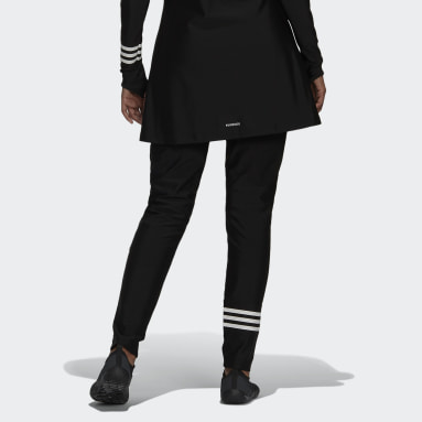 Pantalon de natation 3-Stripes Noir Femmes Natation