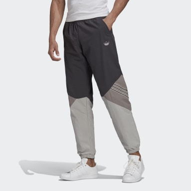 Herr Originals Grå SPRT Archive Woven Track Pants