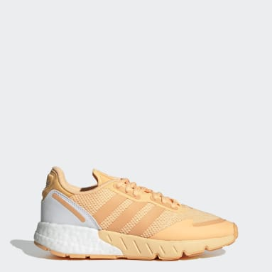 Chaussure ZX 1K Boost Orange Femmes Originals