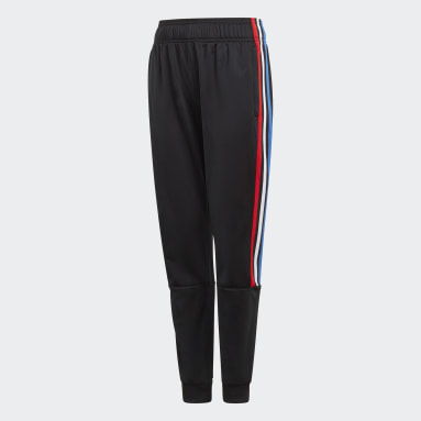 Kids Originals Black Adicolor Track Pants