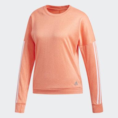 Maglia a maniche lunghe Response Arancione Donna Running