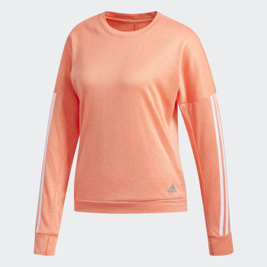 Dames Hardlopen Oranje Response Longsleeve