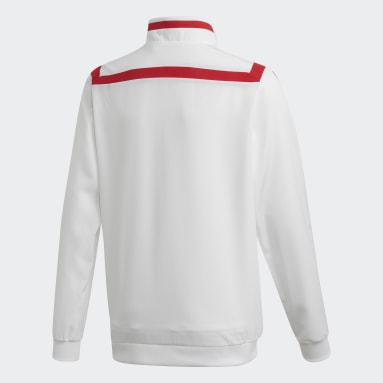 Barn Fotboll Vit Arsenal Presentation Jacket