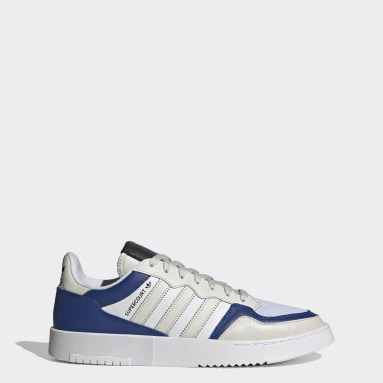 Originals Grey Supercourt Stripes Shoes