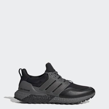 Men Running Black Ultraboost All Terrain Shoes
