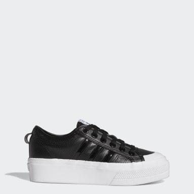 Women Originals Black Nizza Platform Shoes