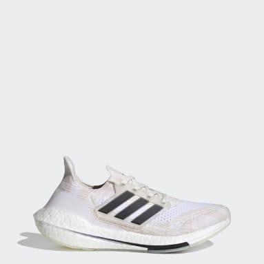 ผู้หญิง วิ่ง สีขาว รองเท้า Ultraboost 21 Primeblue