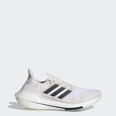 Women Running White Ultraboost 21 Primeblue Shoes